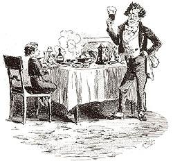 Der freundliche Kellner