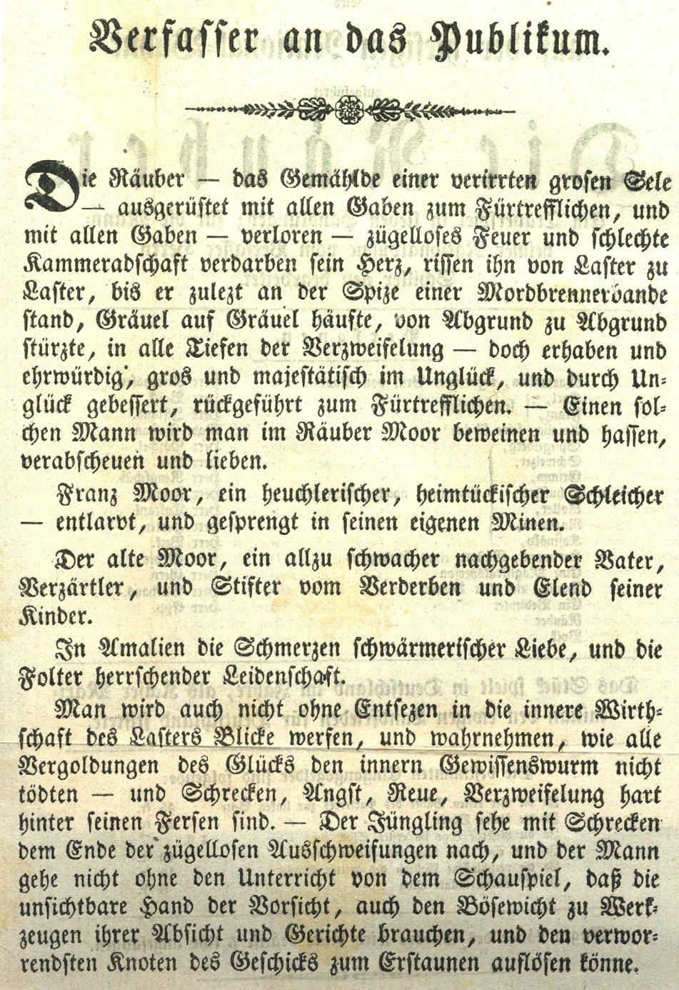 Friedrich Schiller Biographie