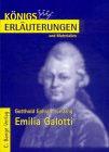 Emilia Galotti von Lessing - Zusammenfassung