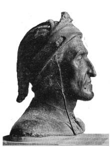 Dantes Totenmaske