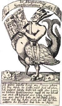 Ilustración de la portada de la primera edición de 1669